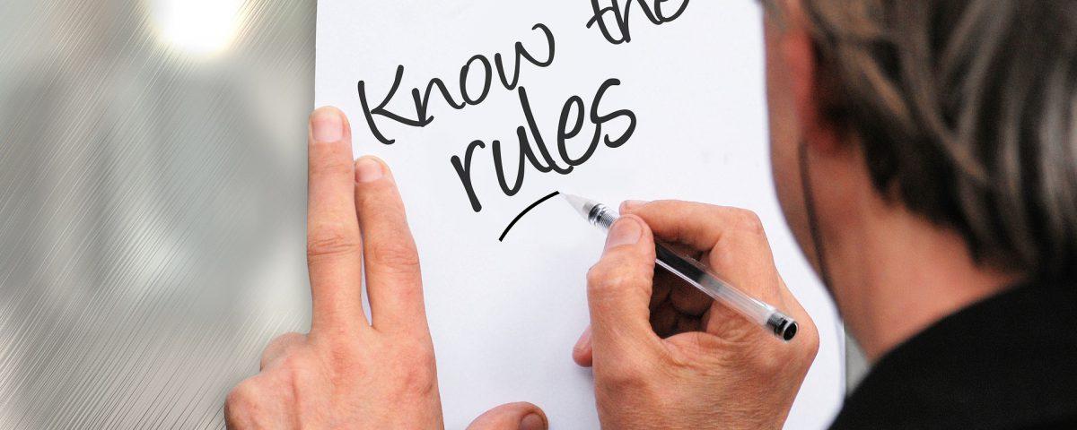 nieuwe regels